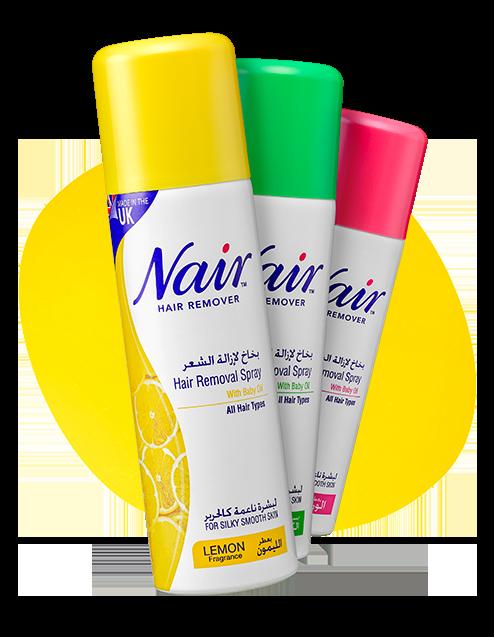 nair spray products