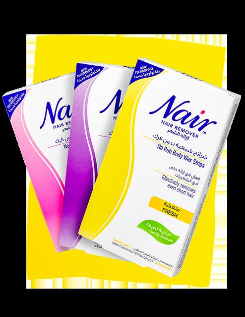 nair waxes products